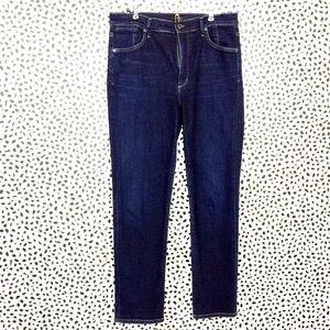 COH Anabella High Rise Cigarette Ankle Jeans Sz 31
